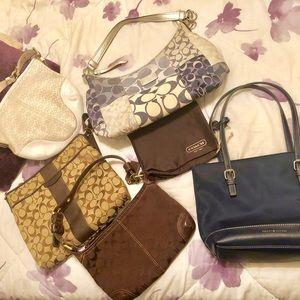 Coach and Tommy Hilfinger Designer Handbags